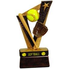 "6 1/2"" Softball Trophybands Resin"